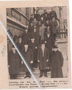 TEMSCHE...1933...INHALING NIEUWE BURGEMEESTER DEN HEER BOEL - Vieux Papiers