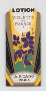 """07162 """"LOTION - VIOLETTE DE FRANCE - A. PICARD - PARIS - LIBERTY"""" ETICH. ORIG. - Labels"""