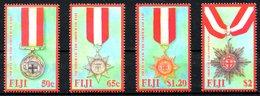 FIDJI. N°1168-71 De 2008. Médailles. - Fiji (1970-...)