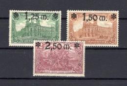Deutsches Reich 1920  Michel N° 116-118 Obl. - Used Stamps