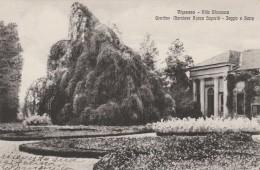 CARTOLINA VIAGGIATA 1939 VIGEVANO VILLA SFORZESCA (TX159 - Altre Città