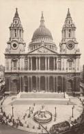 CARTOLINA VIAGGIATA 1926 LONDRA ST.PAUL  (TX182 - St. Paul's Cathedral