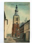 C 44  -  Aarschot  -  Aerschot  -  De Kerk En Euwigheid Straat  -  L'Eglise Et La Rue De L'Eternité - Aarschot