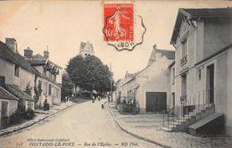 FONTAINE LE PORT - Rue De L'Eglise - France