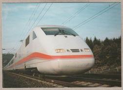 DB InterCityExpress ICE Fahrplanmässiger Einsatz Ab 2. Juni 1991 München - Hamburg - Bahn - Railway - Trains - Treinen