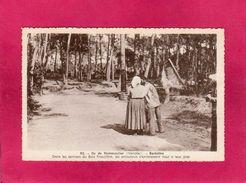 85 Vendée, Ile De Noirmoutier, Barbâtre, Dans Les Sentiers Du Bois Fraudière, Animée, (J.Nozais) - Ile De Noirmoutier