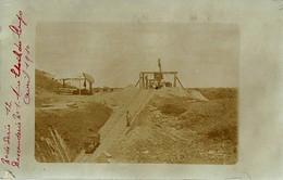 Lubumbashi Mine Cuivre L'étoile Du Congo 1910 La Descenderie N°1 Photo-carte Très Rare !! - Lubumbashi