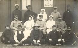 69 - SAINT FONS - Carte Photo De L'Hopital Complémentaire N°54 Avec Cachet - Tirailleurs & Indiens - WW1 Medecin Fol - France