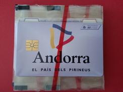 AND 33 50u ANDORRA LOGO ANDORRE Drapeau NEUVE NSB - Andorra