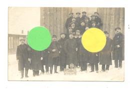 Photo Carte D'un Groupe De Machinistes Belges Au Camp De HOLZMINDEN 1917 / 1918  - Guerre 14/18  (Y112) - Oorlog 1914-18
