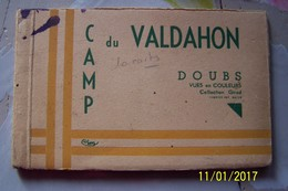 Carnet De 10 Cpa - Camp De  VALDAHON - France