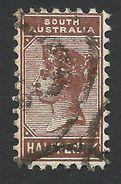 South Australia, 1/2 P. 1895, Sc # 104, Used - Oblitérés