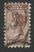South Australia, 1/2 P. 1895, Sc # 104, Used - Gebruikt