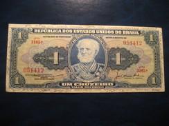 1 Cruzeiro BRASIL Brazil Banknote Billet Billete - Brazil