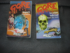 Roman Gore     Impacts N° 30 . Le Crane Infernal N° 46 - Fleuve Noir