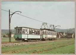 Stuttgart - Tw 6 + Bw 22 Erreichen Den Ortseingang Von Neuhausen - Frühjahr 1977 - Bahn - Railway - Trains - Tramways