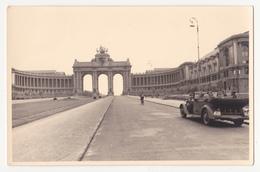 Bruxelles: Jubelpark. Fotokaart,1940/41.Zweiter Weltkrieg. - Musea