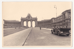 Bruxelles: Jubelpark. Fotokaart,1940/41.Zweiter Weltkrieg. - Musées