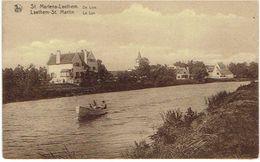 ST. MARTENS-LATEM / LAETHEM-ST. MARTIN - De Leie / La Lys - Photo Is. Mast, Gand - Sint-Martens-Latem