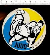 Autocollant Sticker Pub Publicité Judo International Sport  ADH 21/9 - Adesivi