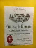 6464 - Château La Gomerie Saint-Emilion - Bordeaux