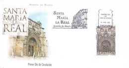 Spanien FDC 3604  Kirche Von Santa María La Real - Tourismus, Architektur, Religion, Jakobsweg - FDC