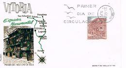 Spanien FDC 1877 El Portalon In Vitoria - Architektur - FDC