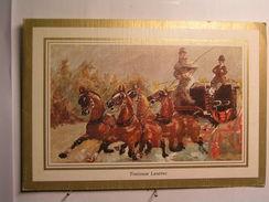 Arts - Peintures - Henri De Toulouse Lautrec - Promenade En Mail Coach à Nice - Peintures & Tableaux
