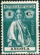ANGOLA, COLONIA PORTOGHESE, PORTUGUESE COLONY, CERES, 1922, FRANCOBOLLI NUOVI (MLH*), 1 C.   YT 202(B)  Scott 121 - Angola