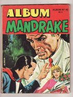ALBUM MANDRAKE N 48 Edit : 1973 (compile 3 Numéro) Poids 190 Gr - Mandrake
