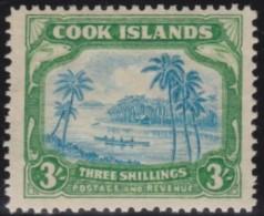Cook Islands        .    SG     .    129       .      *    .     Ongebruikt   .    /    .      Mint-hinged - Cookeilanden
