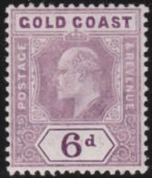 Gold Coast         .    SG     .    54a       .      *    .     Ongebruikt   .    /    .      Mint-hinged - Goudkust (...-1957)