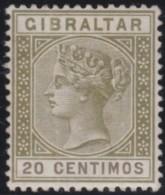 Gibraltar        .    SG     .     24       .      *    .     Ongebruikt   .    /    .      Mint-hinged - Gibraltar