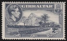 Gibraltar        .    SG     .     124   Perf.  14   .      *    .     Ongebruikt   .    /    .      Mint-hinged - Gibraltar