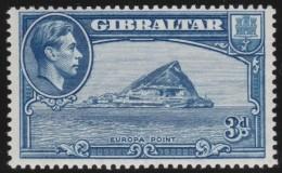 Gibraltar        .    SG     .     125   Perf.  13 1/2      .      *    .     Ongebruikt   .    /    .      Mint-hinged - Gibraltar