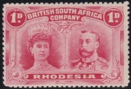 Rhodesia      .    SG     .    125     .      *    .     Ongebruikt   .    /  .      Mint-hinged - Zuid-Rhodesië (...-1964)