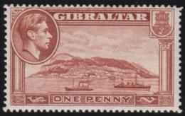Gibraltar     .    SG     .    122  Perf. 14  .   **   .    Postfris    .    /  .      MNH - Gibraltar