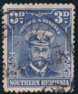 Southern Rhodesia      .    SG     .     5      .       O      .   Gebruikt    .    /  .   Cancelled - Zuid-Rhodesië (...-1964)