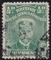 Rhodesia       .    SG     .    187        .       O      .   Gebruikt    .    /  .   Cancelled - Zuid-Rhodesië (...-1964)