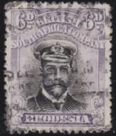 Rhodesia       .    SG     .      266       .       O      .   Gebruikt    .    /  .   Cancelled - Zuid-Rhodesië (...-1964)