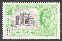 India - Scott #142 MH (2) - 1911-35 Roi Georges V