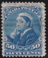 Canada        .    SG     .   116      .       O      .   Gebruikt    .    /  .   Cancelled - 1851-1902 Regering Van Victoria