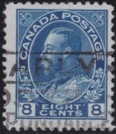 Canada        .    SG     .    252      .       O      .   Gebruikt    .    /  .   Cancelled - 1911-1935 Regering Van George V