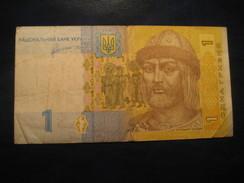 1 Hryvnia 2011 UKRAINE Circulated Banknote Billet Billete - Ukraine