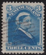 Newfoundland        .    SG     .     65    .       O      .   Gebruikt    .    /  .   Cancelled - 1865-1902