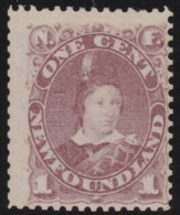 Newfoundland          .    SG     .     44a   .       (*)      .   Geen Gom   .    /  .   No Gum - 1865-1902