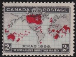 Canada       .    SG     .  166    .      *    .      Ongebruikt   .    /  .   Mint-hinged - 1903-1908 Regering Van Edward VII