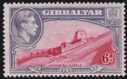 Gibraltar       .    SG     .     126  P. 13 1/2       .       *      .   Ongebruikt    .    /  .    Mint-hinged - Gibraltar