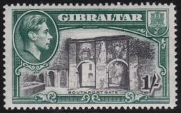Gibraltar       .    SG     .     127  P. 14         .       *      .   Ongebruikt    .    /  .    Mint-hinged - Gibraltar