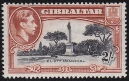 Gibraltar       .    SG     .     128      P. 14         .       *      .   Ongebruikt    .    /  .    Mint-hinged - Gibraltar